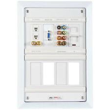 Pro Wire MP-8 In-Wall Media Panel and Labeling System