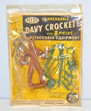 Rare Vintage 1950s Peco Davy Crockett Mint on Original Display Card NR