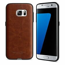 Samsung Galaxy S7 Edge Case Leather Bumper Shock Absorbent Flexible Anti-Dust