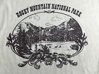True Vintage 70s 80s Rocky Mountain National Park Graphic Ringer T-Shirt L