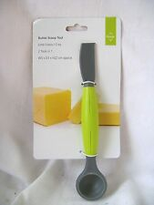 NEW BUTTER TOOL SILICONE TABLESPOON SCOOP, KNIFE  & SLICER PREMIER