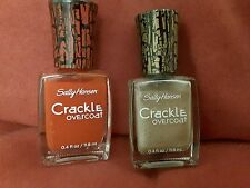 Sally Hansen Crackle Overcoat price of one,available:#5Denim#7CherrySmash#6gold