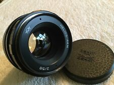 HELIOS-44M 58mm 1:2.0 PRIME LENS with PENTAX M42 MOUNT in EXCELLENT CONDITION