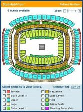 Demi Lovato @ Houston Rodeo (4) Tickets  Sec 103 Row G with Blue Parking Pass