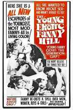 Young Erotic Fanny Hill Poster 01 A2 Box Canvas Print
