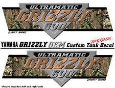 Yamaha Grizzly 600 LARGE OEM Tank Decal Upgrade Graphic Sticker ATV