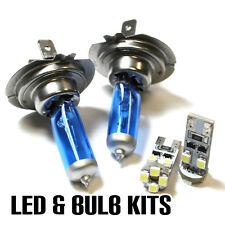 VW Passat B6,3C5 2.0 H7 501 55w ICE Blue Xenon Dip/Canbus LED Side Light Bulbs