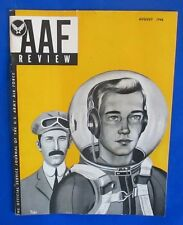 1946 AAF Review magazine (Army Air Force Service Journal) August VGN Atomic