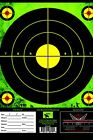 ZOMBIE GREEN Shooting Target 25 PACK 8X11 Perfect For Range Sniper Paper Target