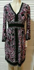 "INC International Concepts KOREA BORDER PAISLEY"" DRESS - SIZE M"