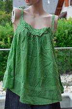 RED SOUL -Très jolie tunique verte sans manche  - taille M - EXCELLENT ÉTAT