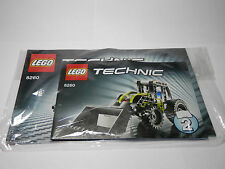 LEGO Set of 3 Instructions 8260  Technic: Model: Construction  Tractor 2009 7-14