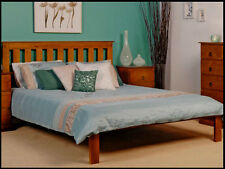 BANKSIA DOUBLE TIMBER BED LOW FOOT FRAME IN BLACKWOOD