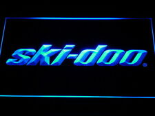 ski-doo Snowmobiles Display LED Neon Light Sign Man Cave D155-B