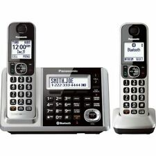 Panasonic KX-TGF372S Link2Cell-Bluetooth 2 Cordless Phones w Answering Machine