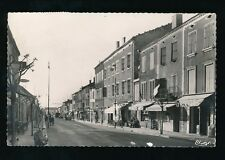 FRANCE 1959 REAL PHOTO PPC PUYLAURENS STREET SCENE