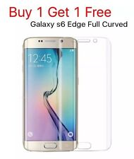 Samsung Galaxy S6 Edge Full Curved TPU Ultra Clear Screen Protector New