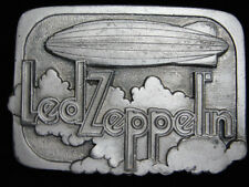 PH07173 VINTAGE 1995 **LED ZEPPELIN** ROCK MUSIC COMMEMORATIVE BELT BUCKLE
