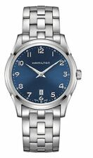 New Hamilton H38511143 Jazzmaster Thinline Blue Dial Stainless Steel Men's Watch
