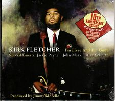 KIRK FLETCHER I'm Here And I'm Gone 2009 Reissue with BONUS TRACKS @New SEALED@