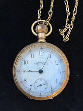 14K solid Gold Waltham Watch 17 Jewels 1896 - not running