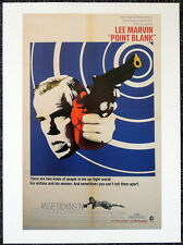POINT BLANK 1967 FILM MOVIE POSTER PAGE . LEE MARVIN ANGIE DICKINSON . S31