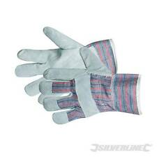 Silverline Rigger Gloves With Chrome Leather Palms And Fingers APCB01 One Size