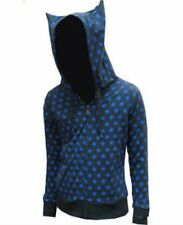 Kitty Ears Hoodie Blue Stars Small SALE PRICE