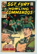 Sgt Fury and His Howling Commandos #58 September 1968 G/VG