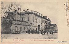 * REGGIO EMILIA - Porta Castello, demolita nell'anno 1899 (viaggiata nel 1900)