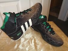 ADIDAS TS COMMANDER 2 MALIK KEVIN GARNETT 2008 SHOES 12 (#061017) BRN/BLK/GREEN