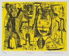 David LARWILL Party I wall art print original abstract signed