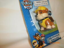 Nickelodeon REBEL Paw Patrol 3D Puzzle Eraser For Ages 3+ New!
