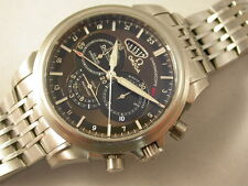 super Omega De Ville Co-Axial Chronoscope Automatik Chronograph St/St