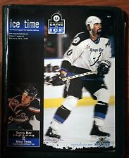 "December 29, 1998 Tampa Bay Lightning ""Ice Time"" Program vs NY Islanders ex"
