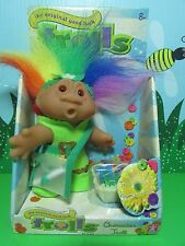 "MULTI COLORED MESSENGER - 5"" DAM Troll Doll - NEW IN PACKAGE - Europe Edition"