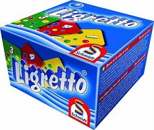 Ligretto Blue: Fast Card Game by Schmidt -For all the Family Ages 8+ 2-4 players
