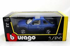 BBURAGO  RANGE LAND ROVER FREELANDER BLUE 1/24 DIECAST CAR 18-22012