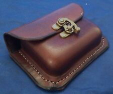 Real Leather Belt Pouch Choice of Colours & Belt Attachment Small Handmade