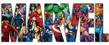 MARVEL, IRON ON t-shirt TRANSFER  for white t-shirts