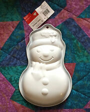 Christmas Holiday Snowman Baking Mold Form Pan - Non Stick -11 inch - New