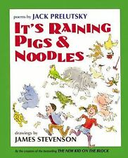 It's Raining Pigs and Noodles by Jack Prelutsky (2000, Hardcover)