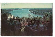 Toronto Boat LOWER NIAGARA RIVER FALLS  Canada Queenston Vintage Postcard