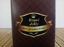 Royal Jelly Enriched Honey 100% Natural Gluten Free Fresh Potent Pure Raw