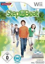Nintendo Wii STEP TO THE BEAT * DEUTSCH * Top Zustand