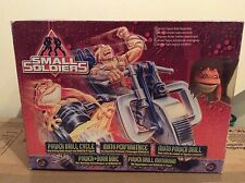 Rare Original Small Soldiers Archers Power Drill Bike & Scratch-it Figure Sealed
