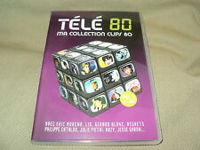 "COFFRET DVD + CD ""TELE 80 - MA COLLECTION CLIPS 80, VOLUME 1"""