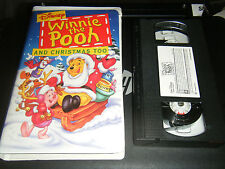 Winnie the Pooh and Christmas Too (VHS, 1997)