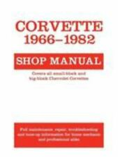 Motorbooks Workshop: Corvette, 1966-1982 : Shop Manual by Schechter (1986,...