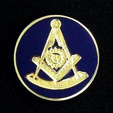 Masonic Past Master Round Lapel Pin (PM-20)